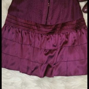 Bebe silk short dress